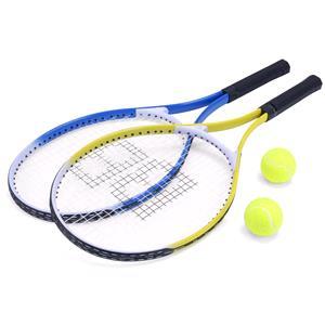 Games and Activities, Pro Baseline Aluminum Tennis Rackets & Tennis Balls, ProBaseline
