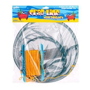 Games and Activities, Yello Crab Fishing Drop Net Set, Yello