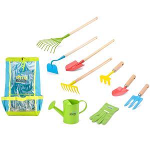 Games and Activities, Little Roots Kids Garden Tools Kit, Little Roots