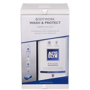 Exterior Cleaning, Autoglym Bodywork Wash & Protect Complete Kit, Autoglym