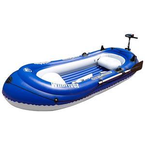 Boats, Aqua Marina Wildriver 2.83m Fishing Boat with Electric Motor T-18, Aqua Marina