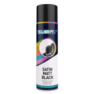 Concept, Concept Satin Matt Black - 450ml, Concept