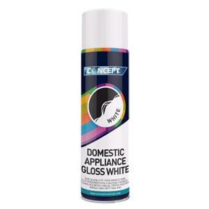 Concept, Concept Domestic Appliance Gloss White - 450ml, Concept
