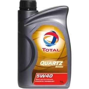 Engine Oils and Lubricants, TOTAL Quartz 9000 5w40 Fully Synthetic Engine Oil - 1 Litre., Total