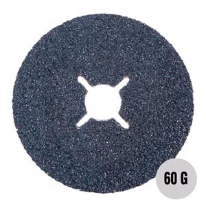 "Sanding, Filing and Finishing, Abracs 4"" Fibre Disc 100mm x 60 grit AL-OX Pack of 25, ABRACS"
