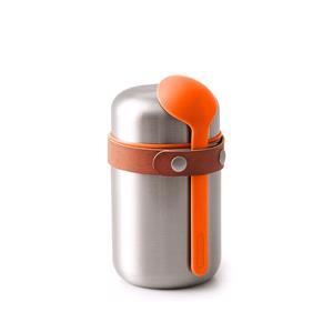 Food Storage, Black+Blum Stainless Steel Food Flask - Orange - 400ml, black+blum
