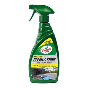 Detailing, Turtle Wax Clean and Shine Exterior Detailer - 500ml, Turtle Wax
