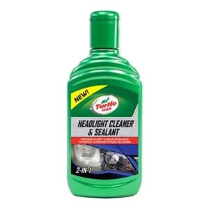 Detailing, Turtle Wax Headlight Cleaner and Sealant - 300ml, Turtle Wax