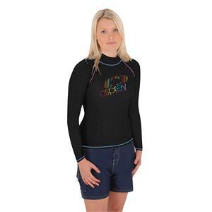 Rash Vests, Osprey Ladies Long Sleeve Rash Vest - Black - Size XS, Osprey