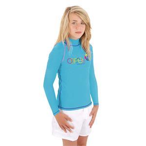 Rash Vests, Osprey Girls Long Sleeve Rash Vest - Blue - Size XS, Osprey