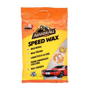 Paint Polish and Wax, ArmorAll Speed Wax Wipes - Pack of 12, ARMORALL