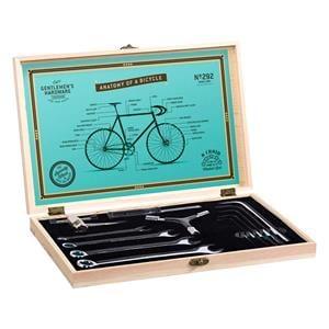 Gifts, Gentlemen's Hardware Bicycle Tool Kit in Premium Wooden Box, Gentlemen's Hardware