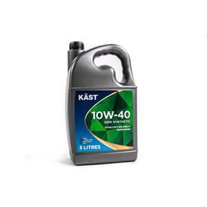 Engine Oils and Lubricants, KAST 10w40 Semi Synthetic A3 B4 Engine Oil - 5 Litre, KAST