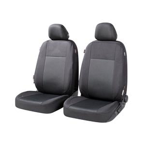 Seat Covers, Walser Ardwell Front Car Seat Covers - Black for Peugeot 207 Saloon 2007 Onwards, Walser