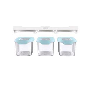Kitchen Organisers, Joseph Joseph CupboardStore™ Under-shelf Storage 900ml Container Set, JosephJoseph