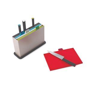 Utensils & Gadgets, Joseph Joseph Index Chopping Board Set with Knives, JosephJoseph