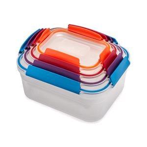 Food Storage, Joseph Joseph Nest™ Lock 4-piece Multi-size Container Set, JosephJoseph