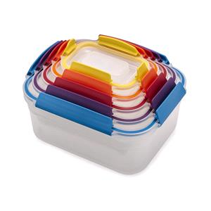 Food Storage, Joseph Joseph Nest™ Lock 5-piece Multi-size Container Set, JosephJoseph