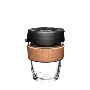 Reusable Mugs, KeepCup Brew Cork - 354ml - Espresso Black, KeepCup