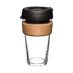 Reusable Mugs, KeepCup Brew Cork - 473ml - Espresso Black, KeepCup