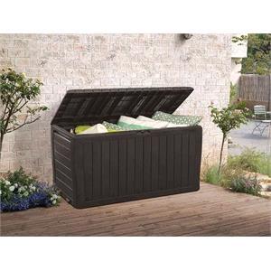 Garden Storage, Keter Marvel Plus 270 Litres Garden Storage Box - Black, Keter