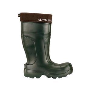 Footwear, Leon Boots Co. Green Reinforced Toe - Pair - Size: 8, LEO