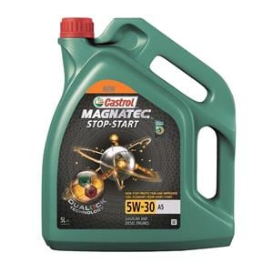 Engine Oils and Lubricants, Castrol Magnatec Stop-Start 5W-30 A5  **5 LITRES**, Castrol