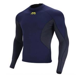 SUP Wear, Aqua Marina Nosara Men's Neoprene Long Sleeve Top - Navy - Size M, Aqua Marina