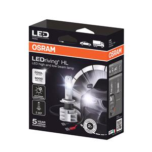 Bulbs - by Bulb Type, Osram 12/24V 16.9W Cool White LED Driving GEN Off Road H7 Bulbs - Twin Pack, Osram