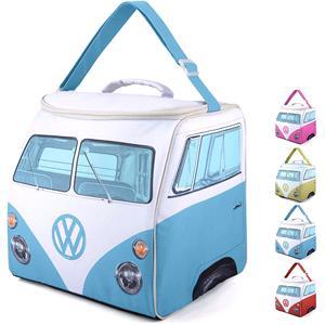 Gifts, Official Volkswagen Campervan Cooler Bag 30L - Blue, Volkswagen