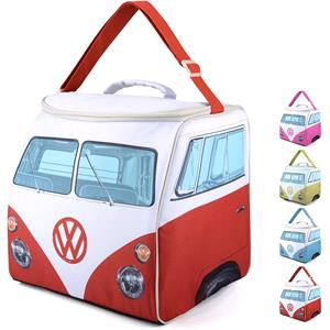 Gifts, Official Volkswagen Campervan Cooler Bag 30L - Red, Volkswagen