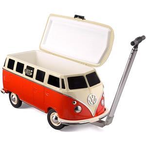 Gifts, Official Volkswagen Campervan Cooler Box - Red, Volkswagen
