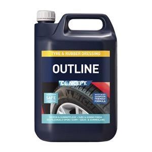 Concept, Concept Outline Tyre & Rubber Dressing - 5 Litre, Concept