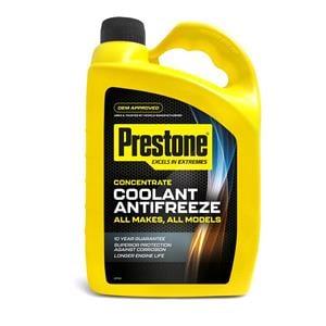 Engine Oils and Lubricants, Prestone Coolant AntiFreeze - All Makes and Models - 4 Litre, PRESTONE
