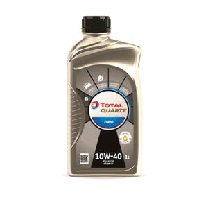 Engine Oils and Lubricants, TOTAL Quartz 7000 10w40 Semi Synthetic Engine Oil - 1 Litre, Total