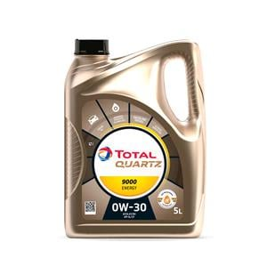 Engine Oils and Lubricants, TOTAL Quartz 9000 Energy 0W-30 Fully Synthetic Engine Oil - 5 Litre, Total