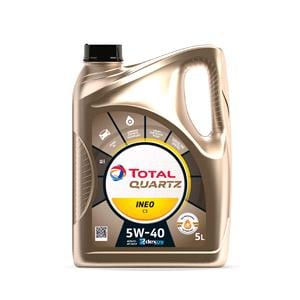 Engine Oils and Lubricants, TOTAL Quartz INEO C3 5W-40 Engine Oil - 5 Litre , Total