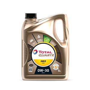 Engine Oils and Lubricants, TOTAL Quartz INEO FIRST 0W-30 Engine Oil - 5 Litre , Total