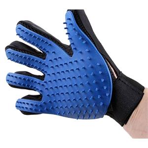 Gifts, Pet Grooming Glove and Massager, Catches Hair!,