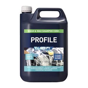 Concept, Concept Profile Wash & Wax - 5 Litre, Concept