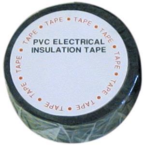 Tapes, Wot-Nots PVC Insulation Tape - Black - 19mm x 4.6m, WOT-NOTS
