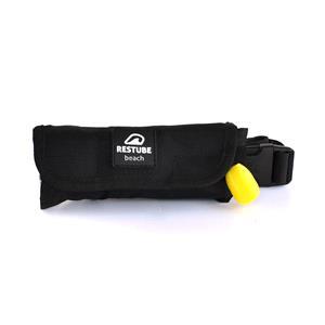 RESTUBE Inflatable Safety Aids, Restube Beach - Black, RESTUBE