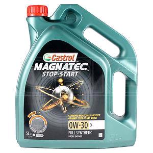 Engine Oils and Lubricants, Castrol Magnatec 0W30 D Stop-Start Fully Synthetic Engine Oil - 4 Litre, Castrol