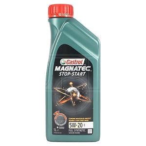 Engine Oils and Lubricants, Castrol Magnatec 5W-20 E Stop-Start Fully Synthetic Engine Oil - 1 Litre, Castrol