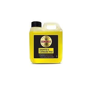 Exterior Cleaning, Simoniz Shampoo & Carnauba Wax - 1 Litre, Simoniz