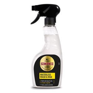 Exterior Cleaning, Simoniz Waterless Wash & Wax 500ml, Simoniz