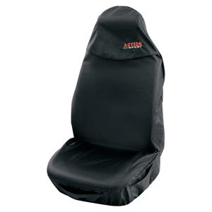 Seat Covers, Universal Action Sports Style Protective Car Seat Cover - Black, Petex