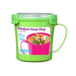 Food Storage, Sistema Medium Soup Mug - 656ml, Sistema