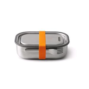 Food Storage, Black+Blum Stainless Steel Lunch Box Large - Orange - 1 Litre, black+blum