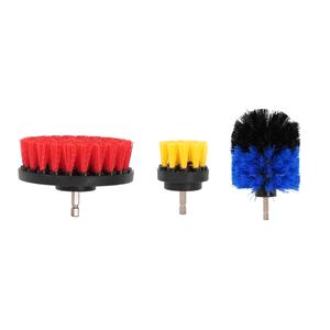 Exterior Cleaning, 3-Piece Scrub Brush Drill Set, Streetwize